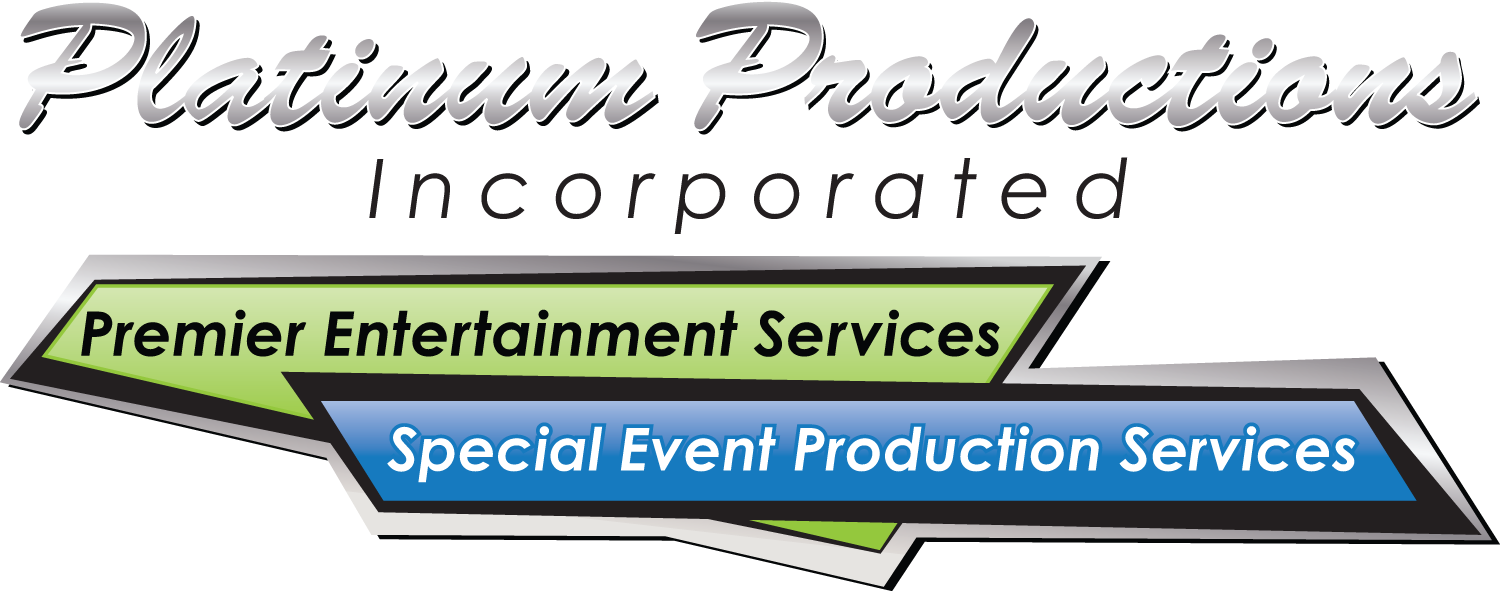 Platinum Productions, Incorporated Logo